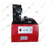 Expiry Date Ink Pad Cup Code Printing Machine Semi Automatic Circle Platetdy380b