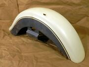 Front Fender Kawasaki Vn1500d Classic Pearl White And Gray 1996-1997 2021