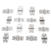 16 Boat Rv Door Hinges Polished Stainless Steel 3 X 1.5 Mirror Finish New Set
