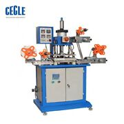 Hsr-p-2126 Semi-automatic Continuous Ribbon Gilding Hot Stamping Machine By Sea