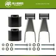 3 Front 2 Rear Full Lift Kit Spacer Shackle For 1984-2001 Jeep Cherokee Xj 4wd