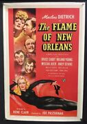 Flame Of New Orleans Original Movie Poster Dietrich Vargas  Hollywood Posters