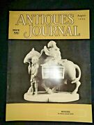 Antiques Journal 1956 Netsuke Watches Vanity Mirrors Perfume Bottles Buttons Box
