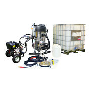Andpound18/week On Lease Petrol Pressure Washer Vacuum Drain Cleaning Business Equipmen