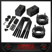 For 2007-2020 Toyota Tundra 3 Front + 2 Rear Full Lift Kit + Differential Drop