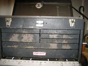 Sears Craftsman/kennedy 520 7 Drawer Machinist Toolbox And New Craftman Tools