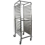 Vollum Front-load Knock Down Bakery Rack Stainless For 20 Full Size Sheet Pans