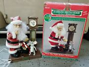 Vintage 21 Telco Animated Motionette Santa Twas The Night Before Christmas