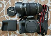 Canon Eos Rebel Sl1 Eos 100d Digital Slr Camera With 18-135mm Is Stm Lens