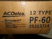New Acdelco Pf-60 Gm Oil Filters 25313714 Case Of 12 Free Shipping