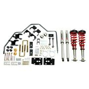 For Chevy Silverado 1500 14-18 1-3 X 4 Front And Rear Handling Lowering Kit