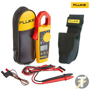 Fluke 325 True Rms Digital Clamp Meter With C23 Carry Custodia And H3 Holster