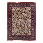 10and0396 X 13and0399 Antique Handmade Agra Design Rug