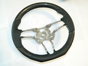 Carbon Leather Steering Wheel Flat For Porsche Macan Panamera Turbo S 911
