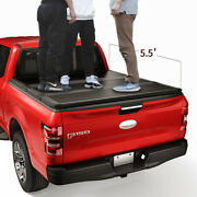 Jdmspeed Lock Hard Tri-fold Tonneau Cover For 2015-20 Ford F-150 5.5ft Short Bed