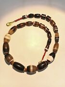 Old Beads A Beautiful 900 Years Old Pre Angkor Agate Bead Necklace From Cambodia