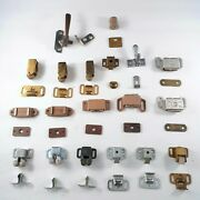 Lot Of Window And Door Magnetic Catches And Other Hardware