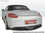 Remus Complete From Cat Porsche Boxster + S 981 0 3/32x3 7/8in Street Black