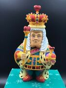 Dept 56 Collectibles Alice In Wonderland Ornament King Of Hearts, 1993