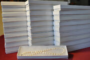 Great Birthday Gifts.lot Of 30 15 Rice Pearl Necklace High Margin Wholesale
