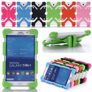 Universal Flexible Silicone Case Kids Shockproof Cover For 7-11 Inch Tablet Pc