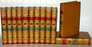 Leather Set Sir Walter Scottfirst Edition 1833 Poetry Waverly Works