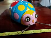 Vintage Tin Battery Op Made In Japan Tin Toy Bug By Midern Toy Co Tin Toy Lot