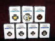 2014 Canada 100th Anniversary Declaration Of Wwi Seven Coin Set Ngc Pf 70 Uc Fr
