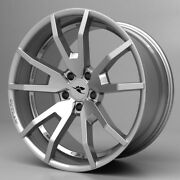 2015 - 2019 Ford Mustang Cdc Outlaw Wheel Set Silver 20 S550 Flow Forged Wheels