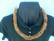 New Hawaiian Feather Lei Natural Chicken Feathers