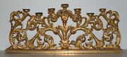 Large Scale Carved And Gilded French Altar Candle Holder Mid 19th Century