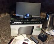 Bose Sounddock Portable For Ipod And Iphone 4/4s Bose Sound In O Box W Remote