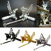 Adjustable Rearsets Footrests Foot Pegs Rear Set For Mv Agusta F4 1000 1998-2009