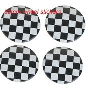 4 Pcs 52mm Colorful England Flag Mini Works Dust-proof Covers Logo 3d Stickers 7