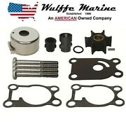 Water Pump Impeller Kit For Johnson Evinrude 4 4.5 5 6 8 Hp Outboard 396644
