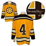 Bobby Orr Boston Bruins Autographed Yellow Rookie Ccm® Vintage Jersey Gnr Coa