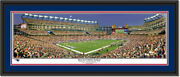 New England Patriots Moon Over Gillette Stadium Framed Panoramic Poster