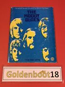 The Moody Blues Including The Story In Your Eyes Guitar Tab Music Book Very Rare