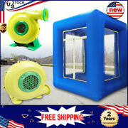 9ft Inflatable Cash Cube Money Machine W/ 2 Dedicated Fans Advertising Promotion