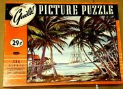 Vintage Whitman Guild Series No.106at Anchorjig Saw Puzzle 304pc.