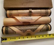 3 Antique Player Piano Roll Assorted Artist Songs Song Of Love When I Think Of U