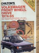 Vintage Book Chiltons Volkswagen 1970-1981 Repair And Tune Up Guide Manual