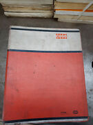 Case 480ck Tractor - Binder Multiple Manuals Included