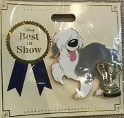 2019 Disney D23 Expo Wdi Mog Best In Show Dog Little Mermaid Max Pin Le 300