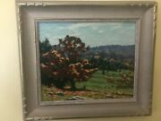 An Old Beech - Original Oil Painting By Canadian Artist George Thomson B 1868