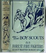 Scout Master Robert Shaler / The Boy Scouts As Forest Fire Fighters 1915