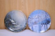 Bradex And Franklin Mint Heirloom Collectors Plates. Julie Kramer Cole And Ron
