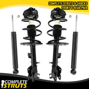 Front Complete Strut Assemblies And Rear Shocks Bundle For 2009-2014 Nissan Murano