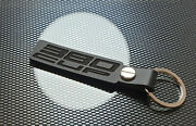 Lotus Exige 380 Cup Black Leather Keyring Keychain S3