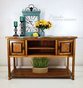 Copper Topped Buffet/sideboard